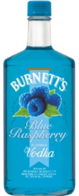 Burnetts Vodka Blue Raspberry